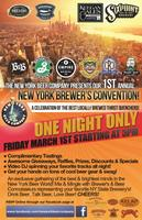 1st Annual New York State Brewer's Convention @ NYBC