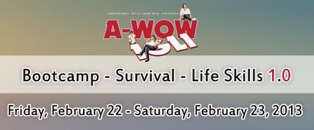 A-WOW IGLI Bootcamp - Survival - Life Skills 1.0 - for...