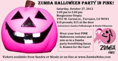 ZUMBA HALLOWEEN Party in Pink for Susan G. Komen