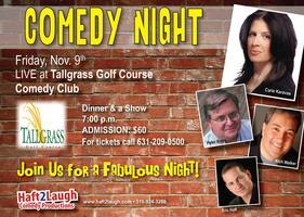 Dinner and Comedy Night at Tall Grass Golf Course