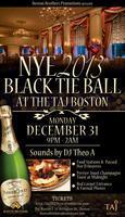 NYE 2013 Black Tie Ball at The TAJ Boston