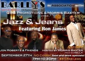 Jazz and Jeans - THURSDAY NIGHT - $6 Crab Legs - FOOD...