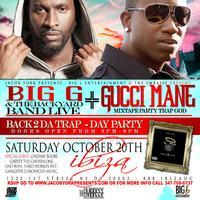 GUCCI MANE, BIG G & THE BACKYARD BAND DAY PARTY 3pm-9pm
