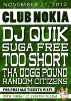 DJ Quik, Suga Free, Too Short, Tha Dogg Pound, and...