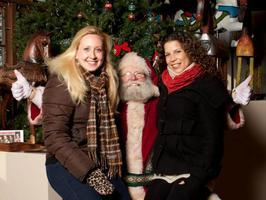 Volunteer Signup for Photos with Santa at the Pumphouse