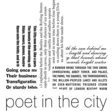 Poet in the City logo