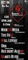 BurnLA Presents: NICKtheNECK, Will Levine, The Fuzz...