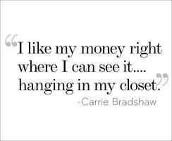 #thebradshaweffect Clothing Swap