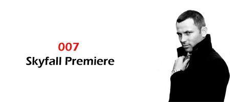 James Bond Skyfall North East Premiere