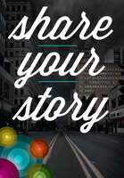 Share your story - Pervasive Hope Tweet Suite