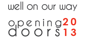 Opening Doors: Well on our Way!