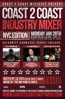 Coast 2 Coast Music Industry Mixer | NYC  Edition - 1/28/13