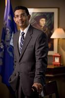 "Dinesh D'Souza speaks on ""Obama's America"" at Stony..."