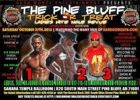 "Pine Bluff ""Trick or Treat"" All Male Revue"
