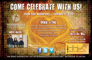 Worship Life Three Year Anniversary Celebration