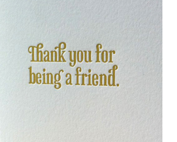 Thank you for Being a Friend Customer Appreciation Part...