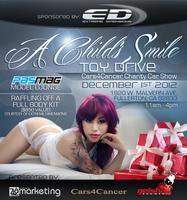 """A Child's Smile"" Toy Drive Cars4Cancer Charity Car..."