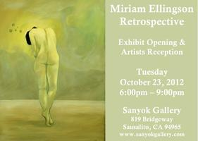 The Many Worlds of Miriam - Artist Reception and After...