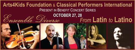 Ensemble Diverso and Ana Fau Present Benefit Concert...