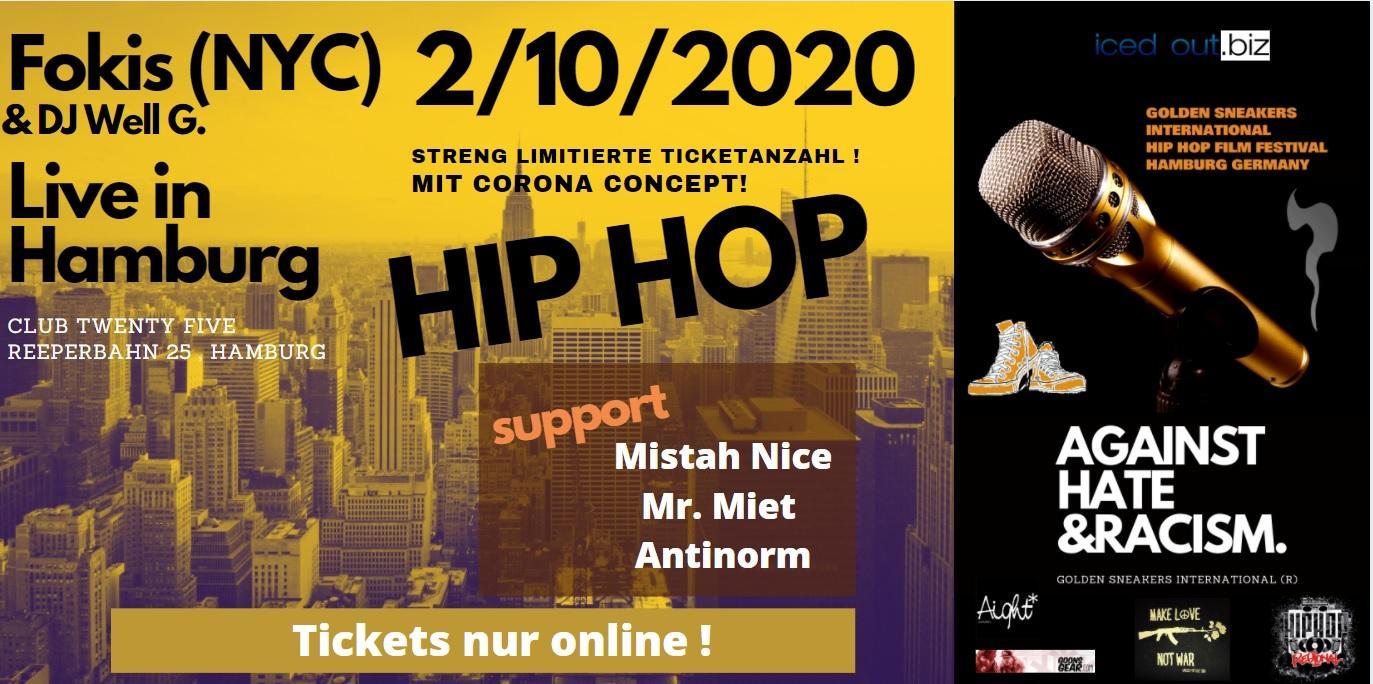 FOKIS (NYC) Live @ Hamburg ft. DJ Well G. w/Mistah Nice, Mr. Miet, Antinorm