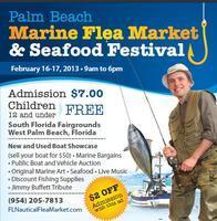 3rd Annual Palm Beach Marine Flea Market & Seafood...