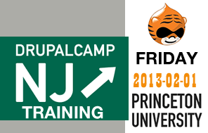 DrupalCamp NJ 2013 Training