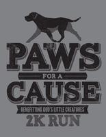 Paws for a Cause 2K Dog Walk/Run