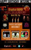 Digital LA - Digital BOO! Halloween Party: Happy...