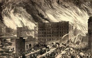 The Great Chicago Fire of 1871 (2012)