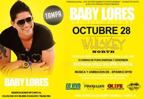BABY LORES EN CONCIERTO AT WHISKEY NORTH