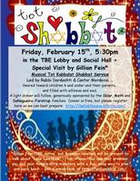 February Tot Kabbalat Shabbat