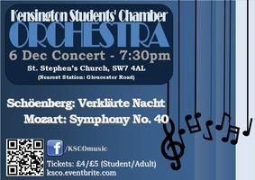 Kensington Students' Chamber Orchestra Concert
