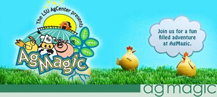 AgMagic - Spring 2013 - TUESDAY April 23rd