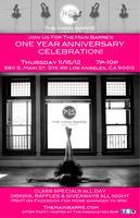 The Main Barre's First Anniversary!