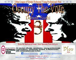OCCUPY THE VOTE DEBATE PARTY