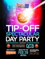 WPEG presents the Tip-Off Day Party hosted by Mr. Incognito...
