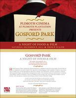 A Night of Food and Film- Gosford Park