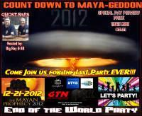 COUNT DOWN TO MAYA-GEDDON THE END OF THE WORLD