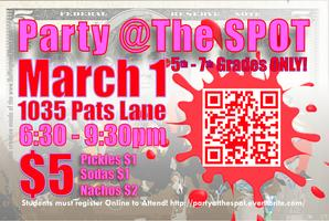 Party @The SPOT!
