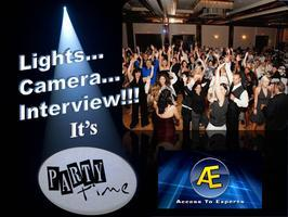 Lights, Camera, Interview