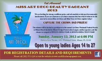 MISS ART DECO BEAUTY PAGEANT 2013