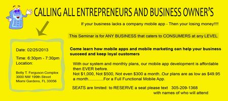 Mobile App Marketing Seminar