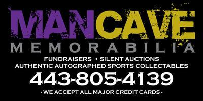 Ray Rice autograph signing at the Man Cave