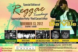 Special Edition Reggae Tuesdays feat. Da'Ville