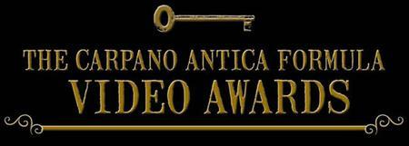 THE CARPANO ANTICA FORMULA VIDEO AWARDS