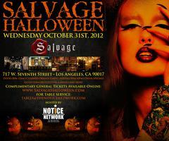SALVAGE HALLOWEEN!  NO COVER CHARGE – The only...