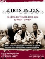 Girls in Gis-Fort Worth & GIG Food Drive