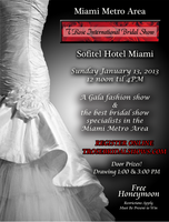 2013 T Rose International Bridal Show- Miami Metro Area
