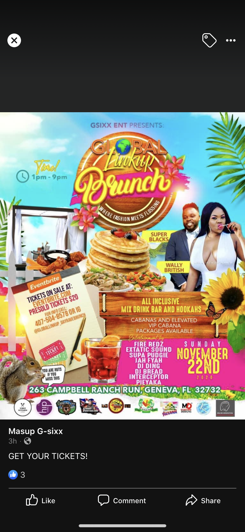 Global LinkUp Brunch
