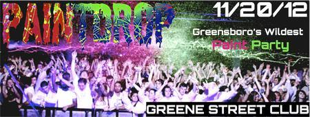 PAINTDROP: Greensboro's Wildest PAINT PARTY
